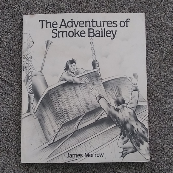 Vintage Other - The Adventures of Smoke Bailey-James Morrow 1st Ed